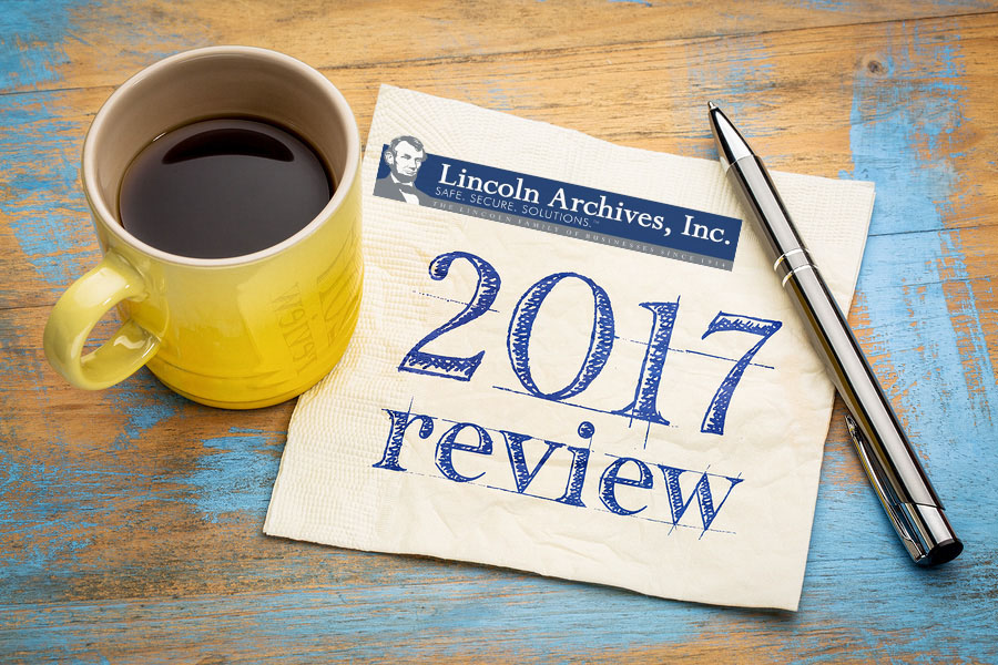 Lincoln Archives would like to take the time to reflect on the accomplishments of the past year and set new goals for up