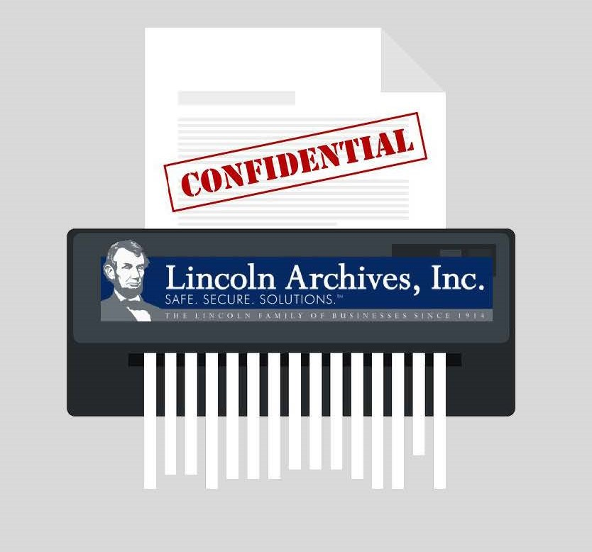 Lincoln Archives provides Document Shredding Services in Buffalo & Rochester NY
