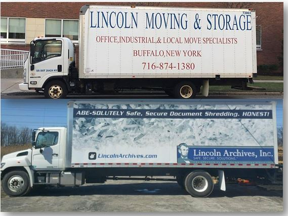 Lincoln Archives and Lincoln Moving and Storage share the same goal of protecting your belongings.