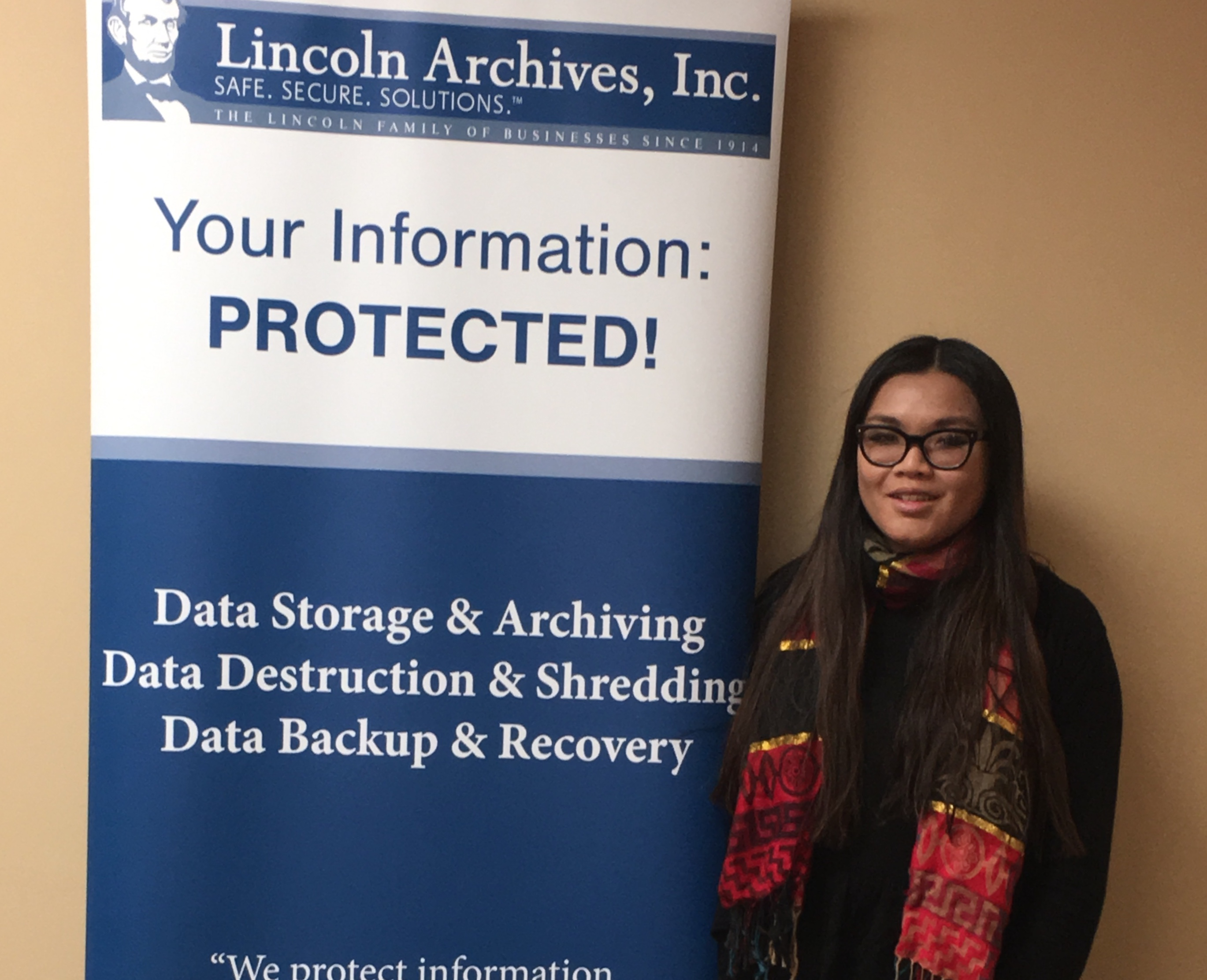 Lincoln Archives Adds a New Member to The Sales Team