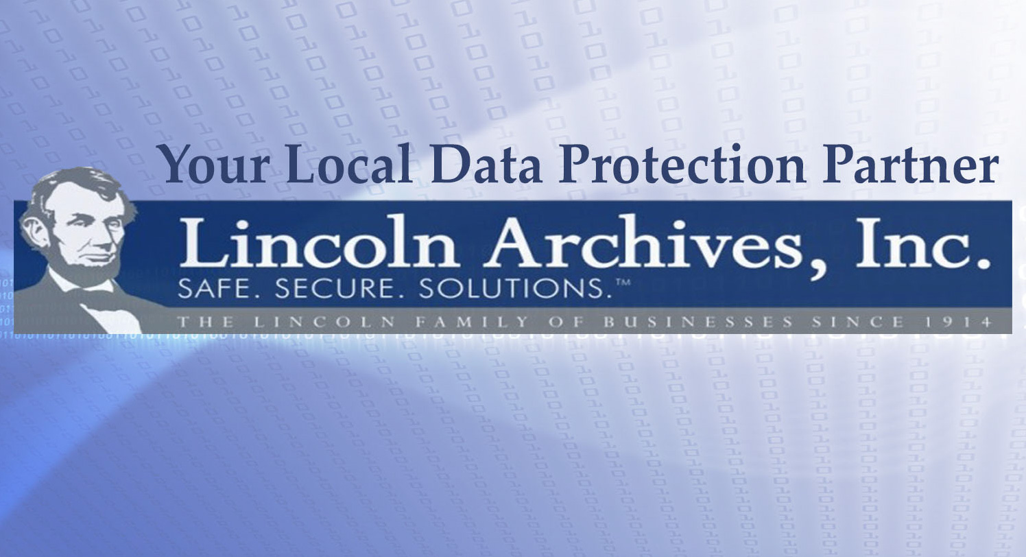 New data protection services which enable Lincoln Archives to be the only local all-inclusive Data Protection partner.