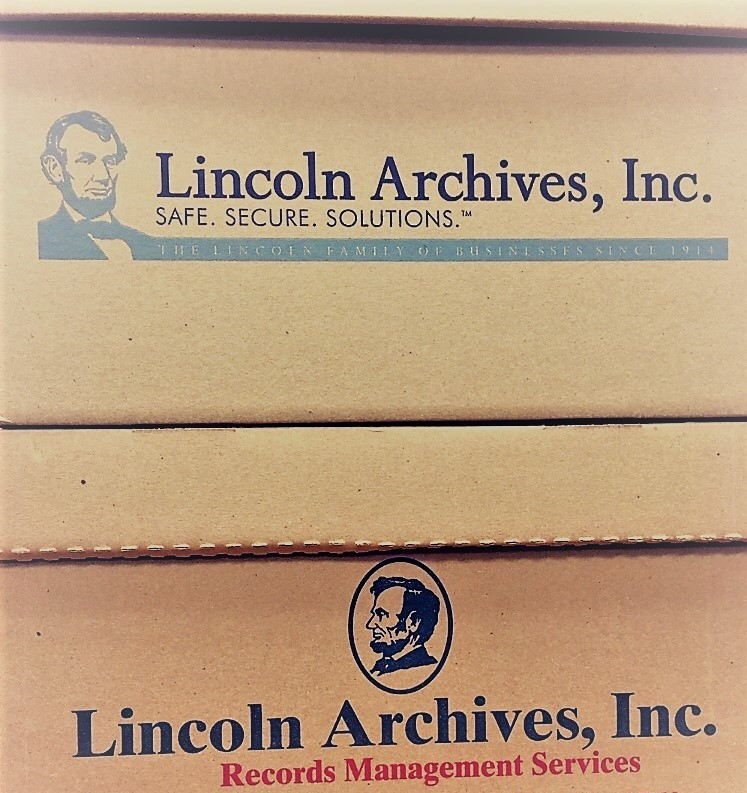 Lincoln Archives updates Document Storage box design