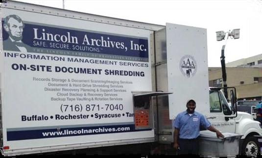 <?=For Shredding Events in Buffalo NY, Choose a Buffalo Company. ?>